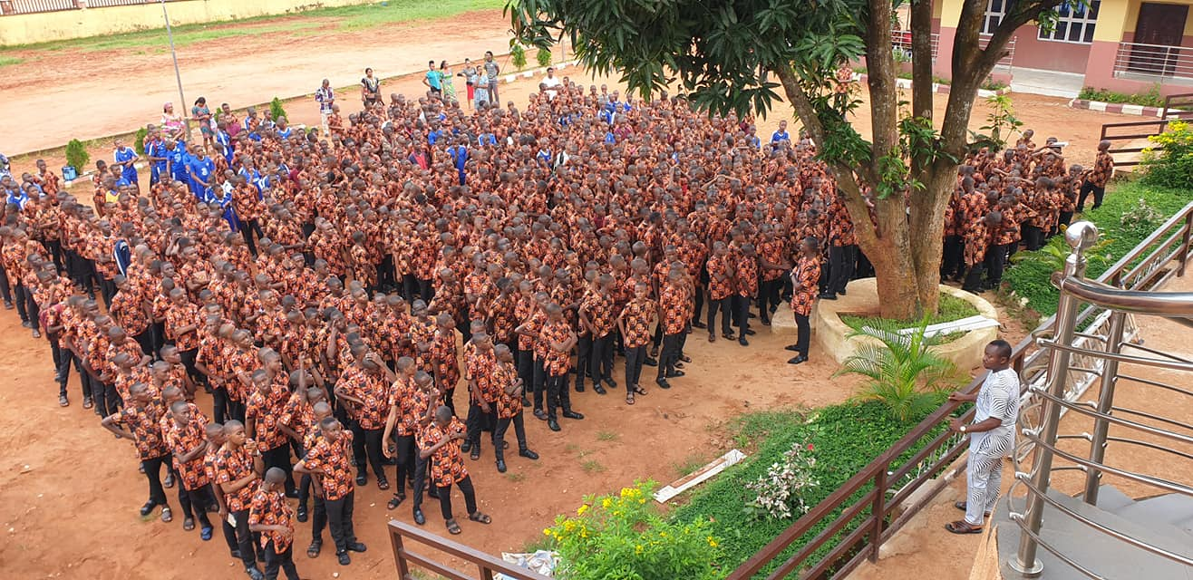 Anambra School Introduces Igbo traditional attire 'Isi Agu' as Official Uniform