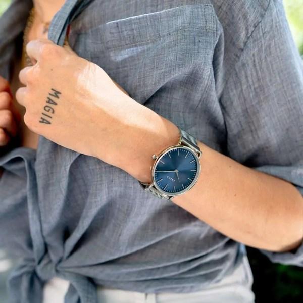 Reloj Emily Mesh