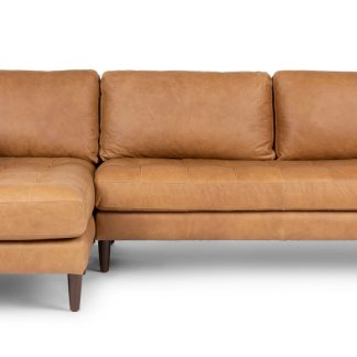 Article Sven Charme Tan Sectional Sofa