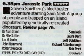 ITV2 - Dinosaurs aren't that festive but the film is still a proper hoot