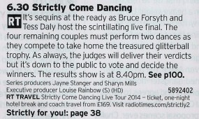 1830 BBC1 - If you don't like Strictly then you don't like fun, simple as that