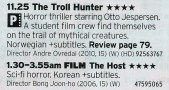 2325 Film4 - Here's your Christmas pallet cleanser; a film about trolls and a Korean horror film. Enjoy!