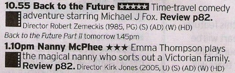Great family double bill, one of which is a stone cold classic and the other is a great modern take on the idea of Mary Poppins