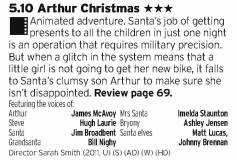 1710 - BBC1 - CGI Aardman is a bit hit and miss but this hits the mark especially at Christmas