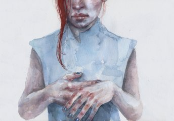 giving_away_the_hands_by_agnes_cecile-d8pm48q