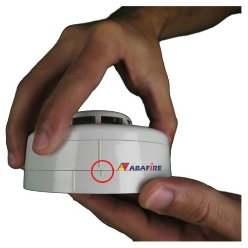 Detector de Fumaça Pontual Convencional com saída relé NA (Conventional Smoke Detector) código AFDF Imagem 03