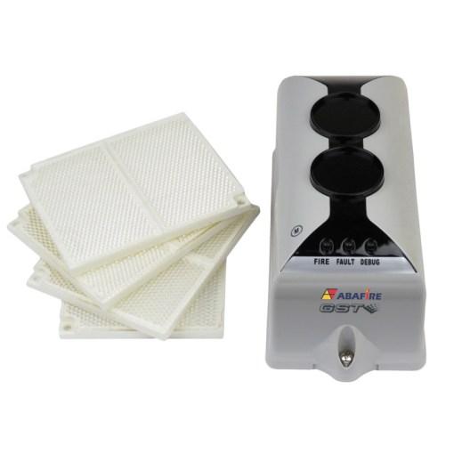 Detector de Fumaça Linear (Reflexive Beam Detector) Convencional e Autônomo com Saída Relé NA e NF, código C9105R - Imagem 01