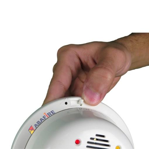 Detector de Chama Pontual Ultravioleta (UV Flame Detector) Tipo Convencional e Autônomo com Sirene Interna e Saída Relé NA/NF. código FS2000 - Imagem 03
