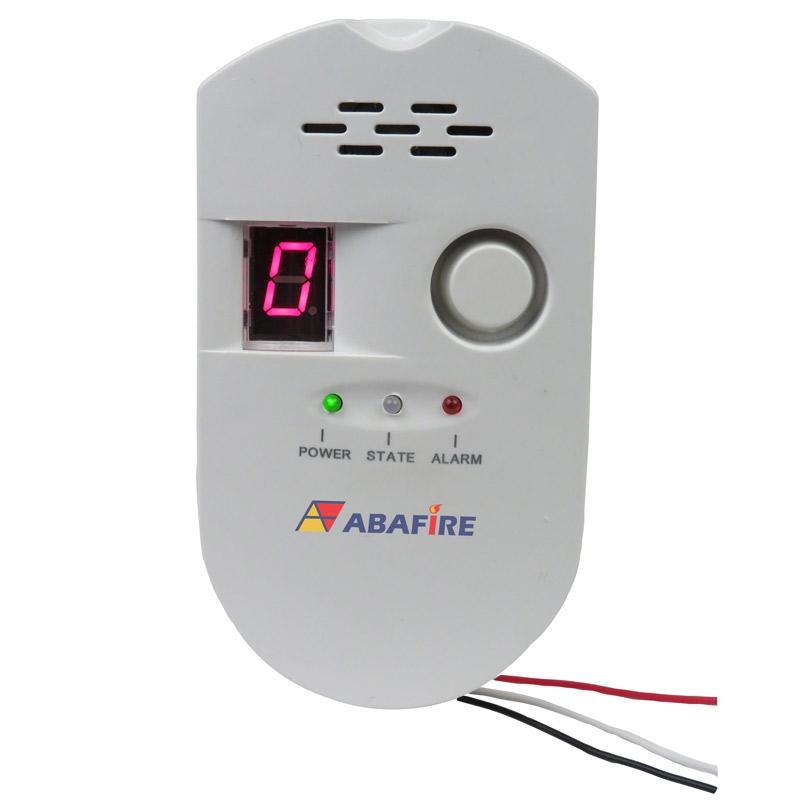 Detector Pontual de Vazamento de Gás de Cozinha - Gás GLP (Gás Liquefeito de Petróleo) ou Gás GN (Gás Natural) com Saída Relé NA/NF código AFDG2 - Imagem 01