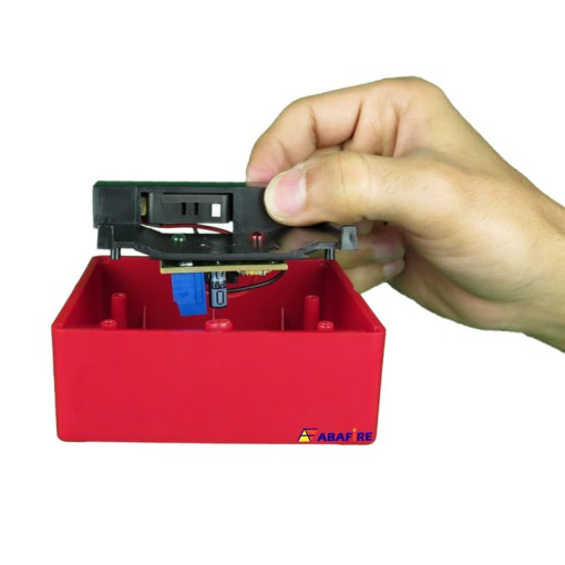 Botoeira e Acionador Manual Convencional (Convencional Call Point) código AFAM2. Ideal para Central de Alarme de Incêndio. Imagem 12