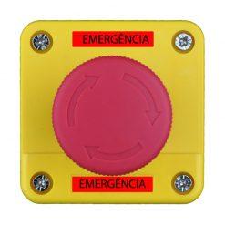 Acionador Manual e Botoeira de Emergência Para Sanitário de Portadores de Necessidades Especiais (PNE) código AFAMPNE - Imagem 01