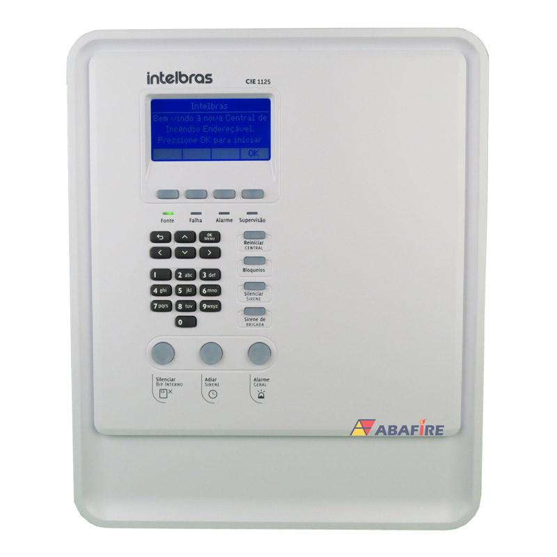 Central de Alarme de Incêndio Intelbrás Tipo Endereçável Com 02 Laços e 500 Endereços código CIE2500 - Imagem 01