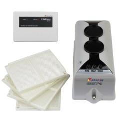 Detector de Fumaça Linear (Reflexive Beam Detector) com módulo endereçável e relé NA/NF, código C9105RE - Imagem 01