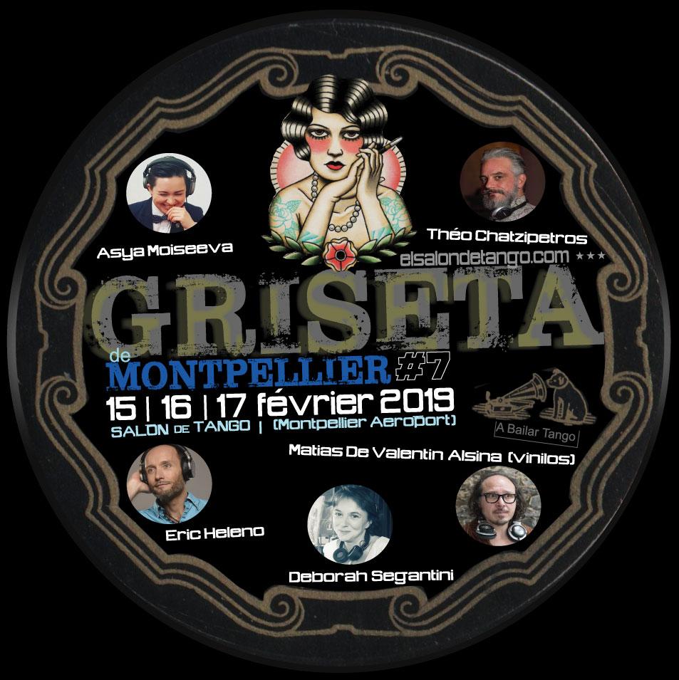 GRISETA de Montpellier #7 programme