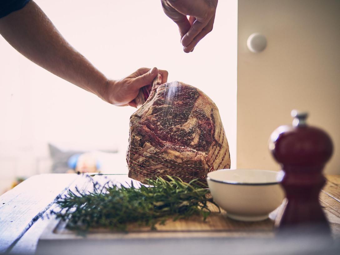roast beef sous vide a baja temperatura