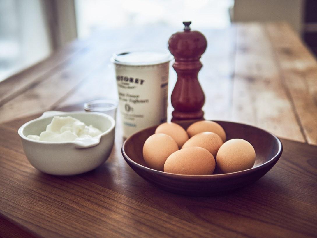 Receta de eggbites sous vide con tomates cherry