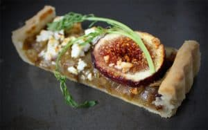 Onion, Fig and Feta Tart