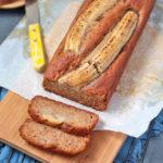 Banana Bread, sliced
