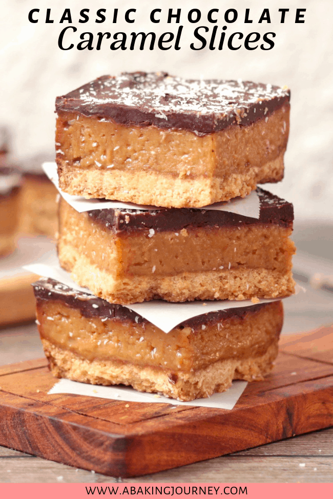 Classic Chocolate Caramel Slices