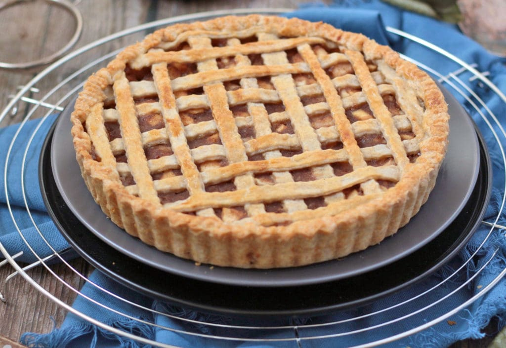 Close up on the pie