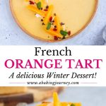 French Orange Tart