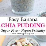 Easy Banana Chia Pudding