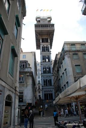 Santa Justa Lift, Lisbon, Portugal (2)