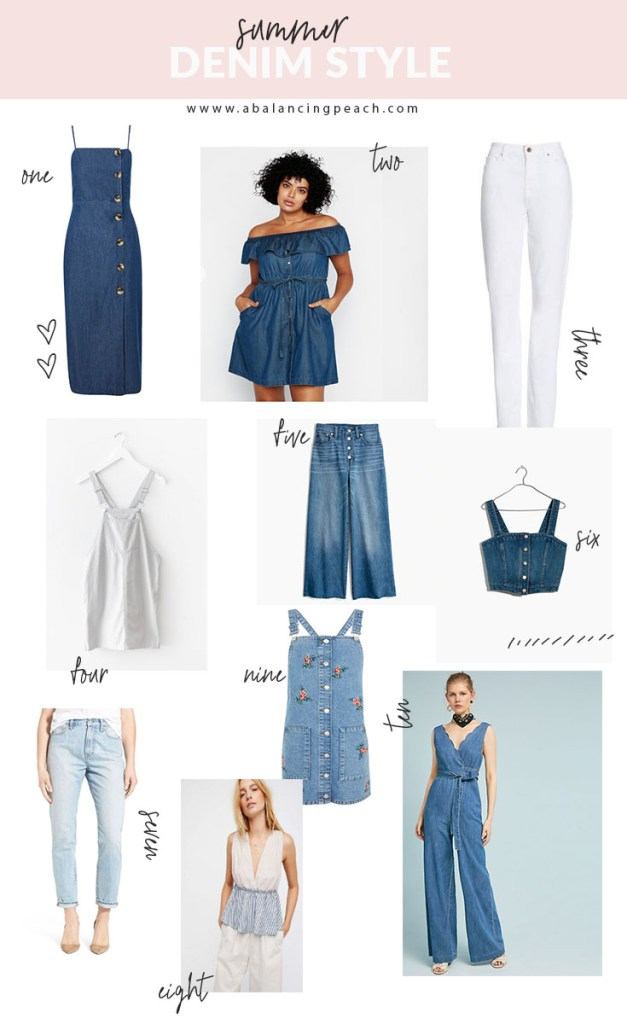 Summer Denim Styles