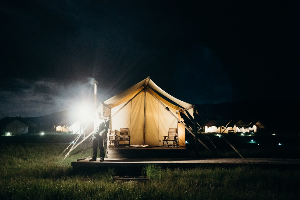 West Yellowstone Under Canvas
