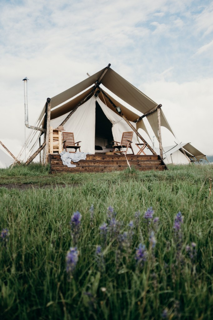 Glamping in West Yellowstone Under Canvas