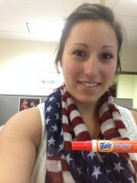 Tide To Go is perfect for everyone! No barbecue stains this year!