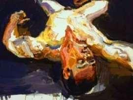 Ben Quilty painting -6