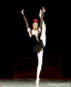 Svetlana... total hip up... Vaganova School and principal at Bolshoi.