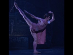 Roberto Bolle in Ashton's Sylvia. Royal Ballet. Screen shot off youtube. #boom