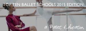 top ten ballet schools