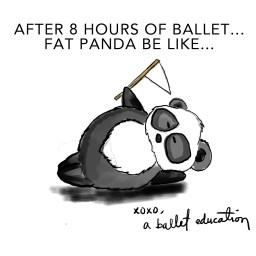 FAT PANDA DIES