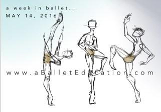 A week in Ballet