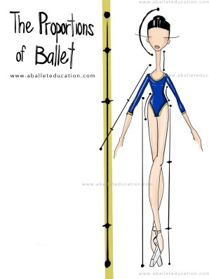proportions of ballet