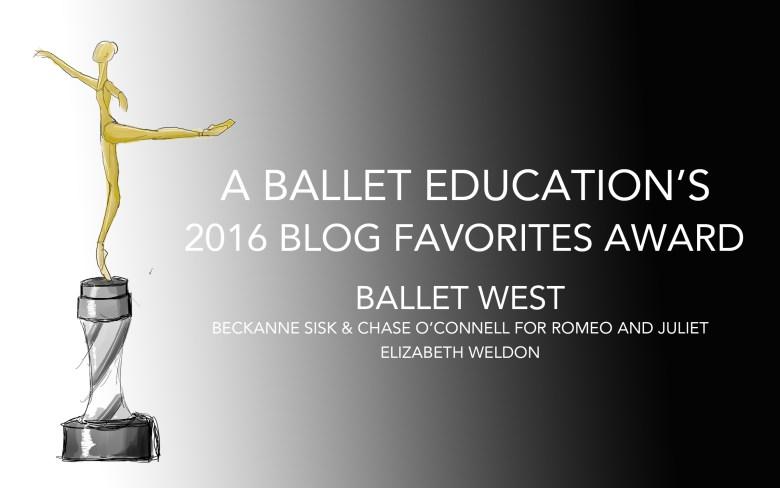 A BALLET EDUCATION AWARD