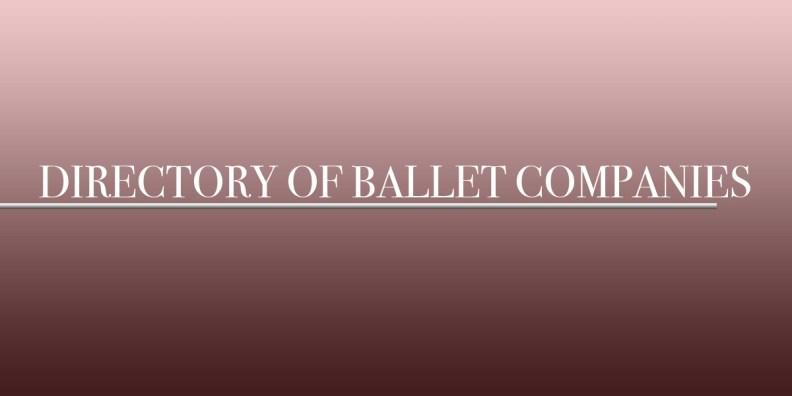 list of ballet companies