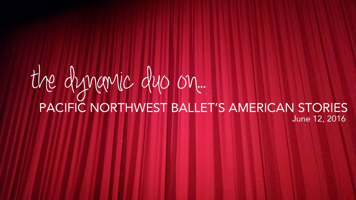 the dynamic duo ballet pnb