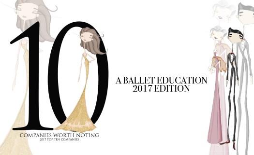 Top 10 Ballet companies 2017
