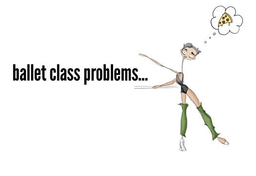ADULT BALLET CLASS PROBLEMS