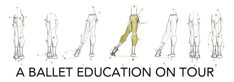 a ballet education ballet tendu
