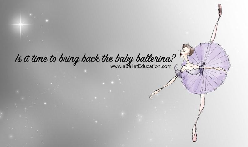 the baby ballerina