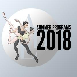 Summer Intensives Ballet 2018