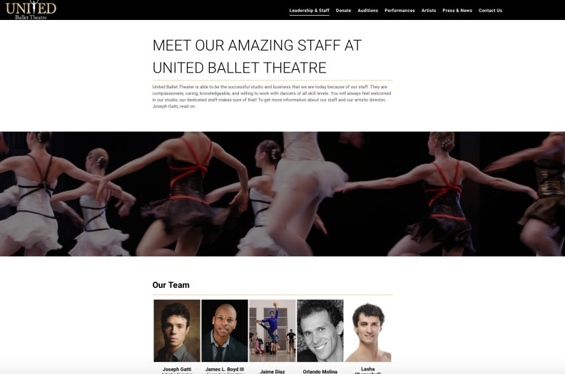 united ballet theatre