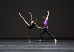Fentroy and Roddy Dobble in William Forsythe's Pas/Parts. Rosalie O'Connor, Courtesy Boston Ballet.