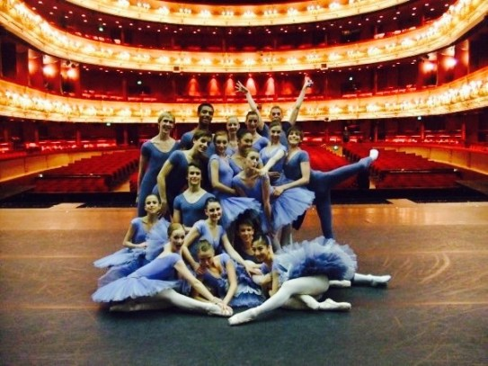 1st year Royal Opera House performance