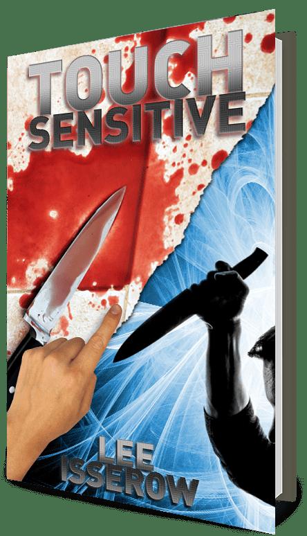touch sensitive psychic detective scifi novel thriller novel supernatural romance thriller
